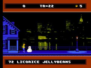 A Boy and his Blob - erster Bildschirm