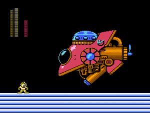 Mega Man 2: Dr. Wily Bosskampf